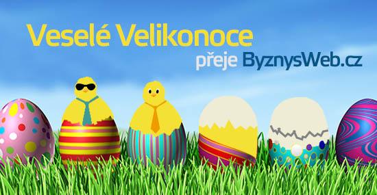 velikonoční přání od ByznysWeb.cz