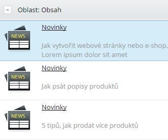 blog na e-shopu, blog na webové stránce