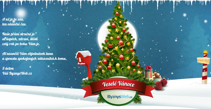 pf 2015, vánoční přání od byznysweb